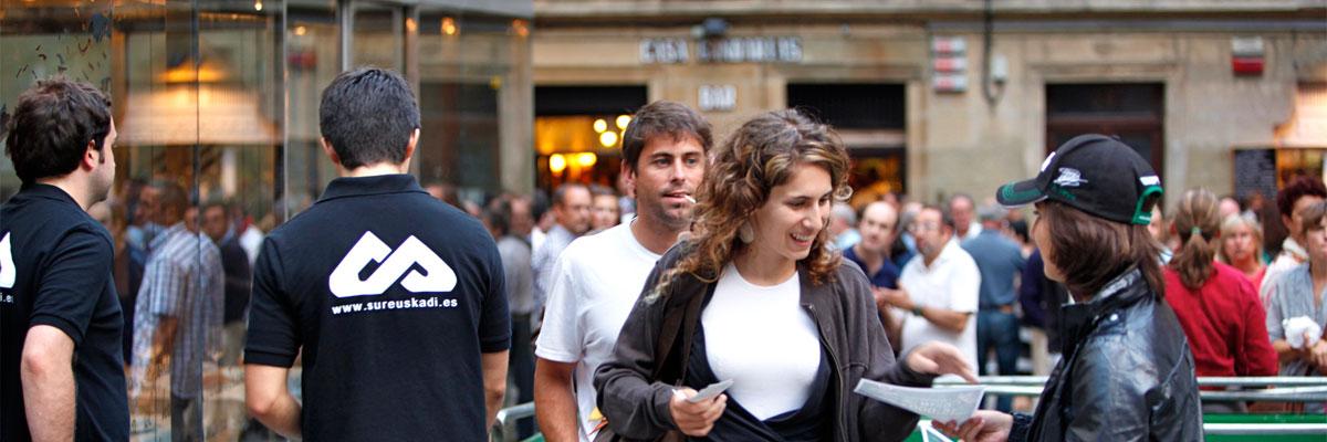Líderes en el País Vasco